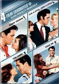 4 Film Favorite:Elvis Presley Musical - (Region 1 Import DVD)