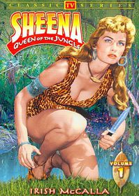 Sheena Queen of the Jungle Vols 1-3 - (Region 1 Import DVD)