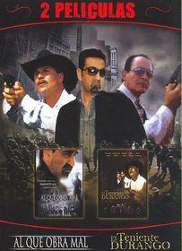 Al Que Obra Mal/El Teniente Durango - (Region 1 Import DVD)