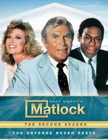 Matlock:Second Season - (Region 1 Import DVD)