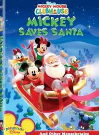 Mickey Mouse Clubhouse Mickey saves Santa (DVD)