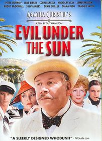 Evil Under the Sun - (Region 1 Import DVD)