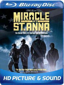 Miracle at St Anna - (Region A Import Blu-ray Disc)