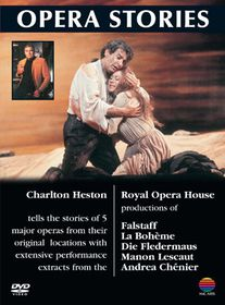Charlton Heston: Opera Stories - Volume 1 - (Import DVD)