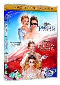 The Princess Diaries/Princess Diaries 2 - Royal Engagement - (Import DVD)