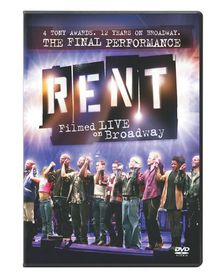 Rent:Filmed Live on Broadway - (Region 1 Import DVD)