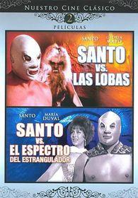 Santo Vs Las Lobas/Santo Vs Espectro - (Region 1 Import DVD)