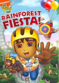 Go Diego Go:Rainforest Fiesta - (Region 1 Import DVD)