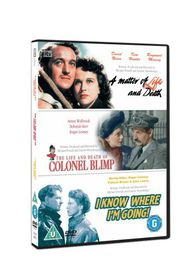 A Matter of Life and Death / Colonel Blimp / I Know Where I'm Going - (Import DVD)