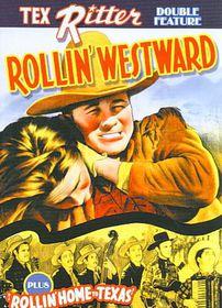 Tex Ritter Double Feature:Rollin West - (Region 1 Import DVD)