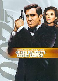 On Her Majesty's Secret Service - (Region 1 Import DVD)