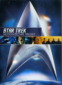 Star Trek:Motion Picture Trilogy - (Region 1 Import DVD)