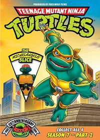 Tmnt 25th Ann Ssn 7 Pt 2:Michelangelo - (Region 1 Import DVD)