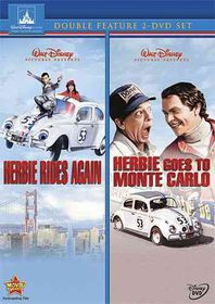 Herbie Rides Again/Herbie Goes to Mon - (Region 1 Import DVD)