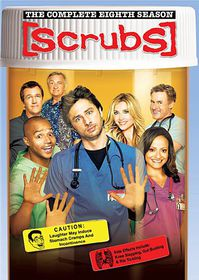 Scrubs:Complete Eighth Season - (Region 1 Import DVD)