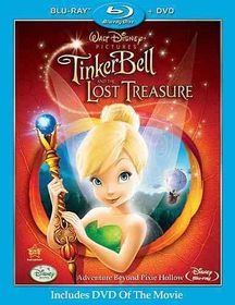 Tinker Bell and the Lost Treasure - (Region A Import Blu-ray Disc)
