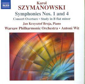 Szymanowski: Symphonies 1 & 4 - Warsaw Po/Wit (CD)