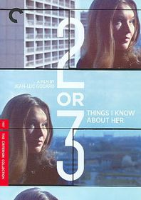 2 or 3 Things I Know About Her - (Region 1 Import DVD)