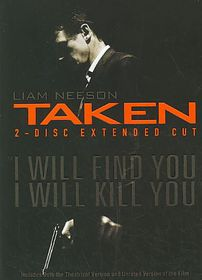 Taken (Extended Cut) - (Region 1 Import DVD)