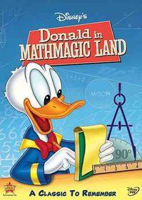 Donald in Mathmagic Land - (Region 1 Import DVD)