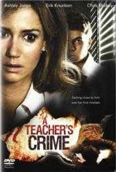 A Teacher's Crime (2008) - (DVD)