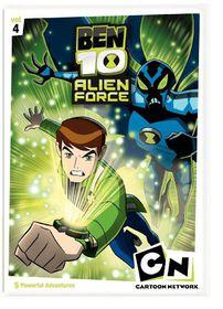Ben 10 Alien Force:V4 - (Region 1 Import DVD)