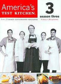 America's Test Kitchen Season 3 - (Region 1 Import DVD)