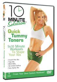 10 Minute Solution: Quick Tummy Toners - (Import DVD)
