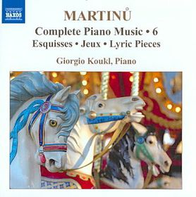 Martinu: Complete Piano Music Vol 6 - Complete Piano Music - Vol.6 (CD)