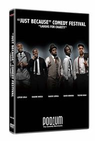 Just Because Comedy Festival Kagiso Lediga, Trevor Noah & more (DVD)