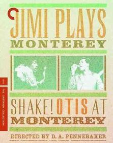 Jimi Plays Monterey & Shake Otis at M - (Region A Import Blu-ray Disc)
