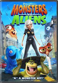 Monsters Vs Aliens - (Region 1 Import DVD)