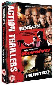 Edison/Revolver/The Hunted - (Import DVD)
