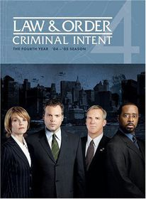Law & Order:Criminal Intent Season 4 - (Region 1 Import DVD)
