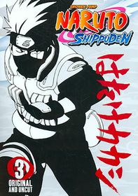 Naruto Shippuden Vol 3 - (Region 1 Import DVD)