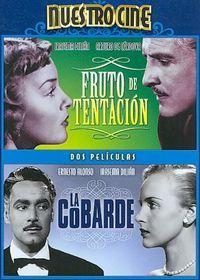 Fruto De Tentacion/La Cobarde - (Region 1 Import DVD)