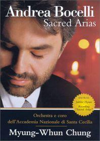 ANDREA BOCELLI - SACRED ARIAS (AVE MARIA) (DVD)