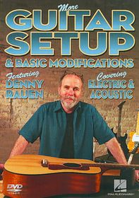 More Guitar Setup & Basic Modificatio - (Region 1 Import DVD)