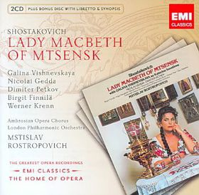 Lady Macbeth Of Mtsensk - Various Artists (CD)
