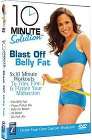10 Minute Solution: Blast Off Belly Fat - (Import DVD)