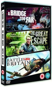 A Bridge Too Far / The Great Escape / Battle of Britain - (Import DVD)