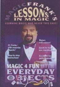 Magic Frank's Lessons in Magic: Volume 1 - (Import DVD)