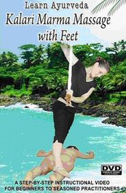 Learn Ayurveda Kalari Marma Massage With Feet - (Import DVD)