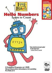 Hello Numbers - Learn to Count - (Import DVD)