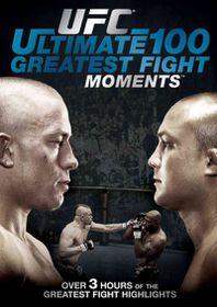 UFC :Ultimate 100 Greatest Fight Momen - (Region 1 Import DVD)