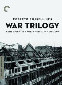 Roberto Rossellini's War Trilogy - (Region 1 Import DVD)