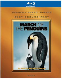 March of the Penguins - (Region A Import Blu-ray Disc)
