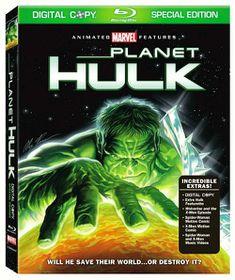 Planet Hulk - (Region A Import Blu-ray Disc)