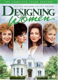 Designing Women Season 3 - (Region 1 Import DVD)