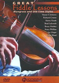 Great Fiddle Lessons:Bluegrass & Old - (Region 1 Import DVD)